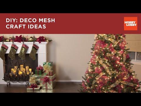 DIY: Deco Mesh Craft Ideas | Hobby Lobby®