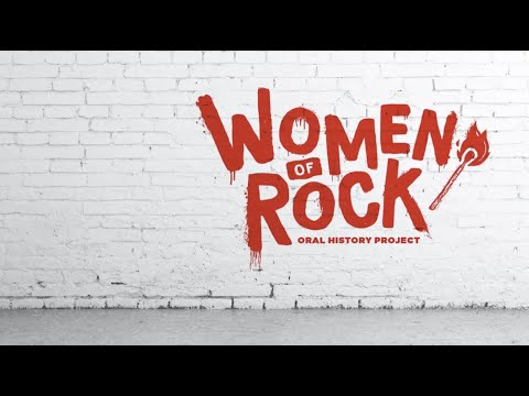 The Women of Rock: Discover an Oral History Project That Features Pioneering Women in Rock Music