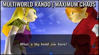 Ocarina of Time Multi World Randomizer - Quad Damage, Max Ice Traps, Text Shuffle