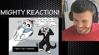 Undertale Dub Compilation Undertale Comic Dub REACTION MightyMaskArmy