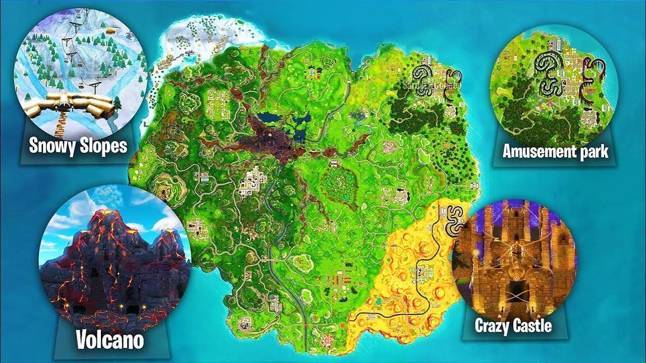 Fortnite Temporada 7 Mapa.Temporada 6 Cambios En El Mapa De Fortnite Battle Royale