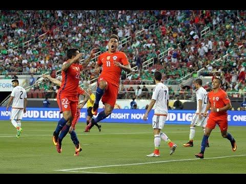 México 0 - 7 Chile | Copa América Centenario 2016 | Claudio Palma
