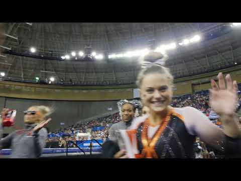 Oregon State Beavers - Oregon State Gymnastics with highest finish ever at Nationals!!