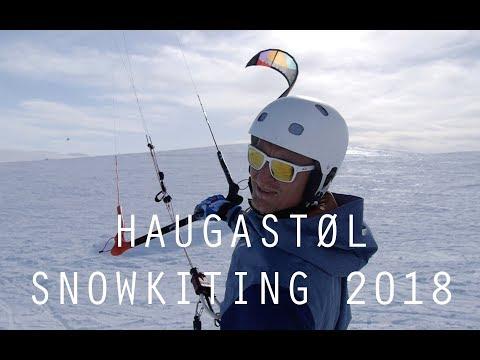 HAUGASTØL SNOWKITING 2018 - NORWAY