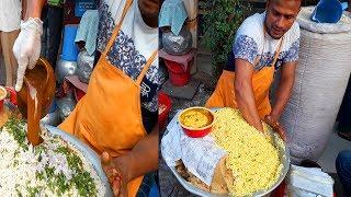 King Of Jhal Muri Maker-রুবেল মামার চোখের পানি ঝাল মুড়ি | Jhal Muri(Puffet Rice) | Tasty Masala Muri