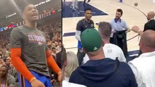 "Old Video Surfaces Showing Russell Westbrook being Called ""Boy' By Racist Utah Jazz Fan!"