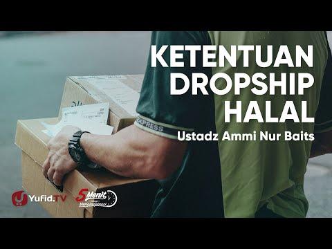 bisnis-dropship-yang-menguntungkan:-ketentuan-dropship-dalam-islam---ustadz-ammi-nur-baits