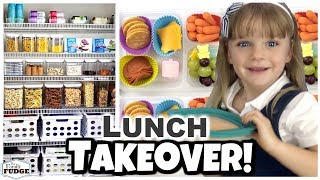 Kids Take Over! 😱 Teaching kids to pack their own lunch 🍎 Bunches Of Lunches