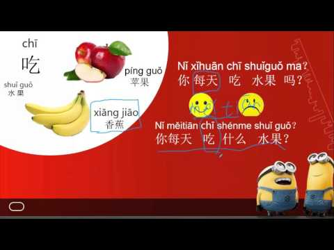 Chinese made Easy(for kids )Lesson 12 你喜欢吃什么水果?