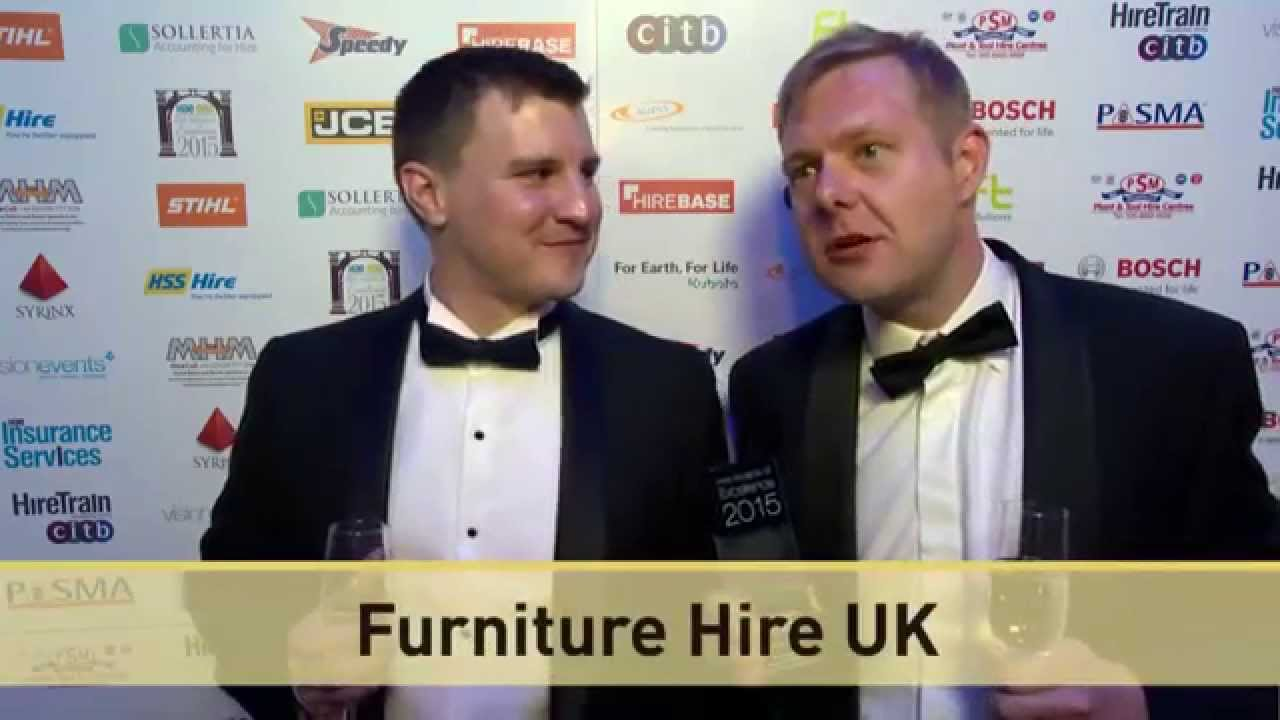EHA Company of the Year 2015 - Furniture Hire UK
