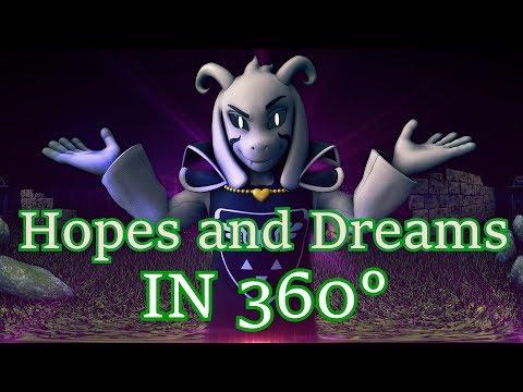 [SFM Undertale] Hopes and Dreams 360° (360 degree Battle) Asriel Dreemurr