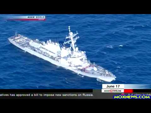 Japanese Coast Guard Find Destroyer USS Fitzgerald Was At Fault For Crash That Killed 7 U.S. Sailors