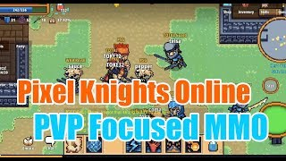 Pixel Knights Online - Massive Multiplayer Online Role Playing Game