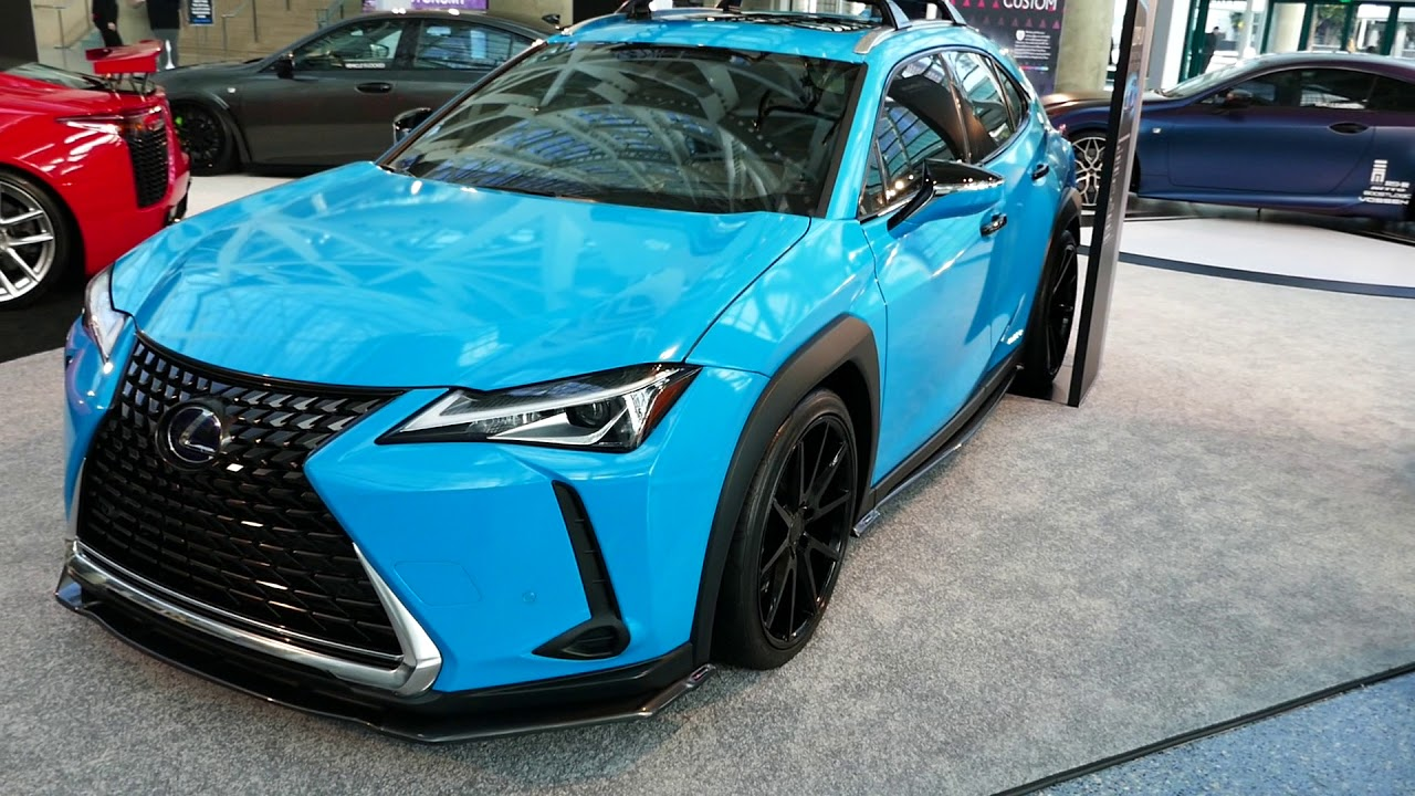 Lexus Los Angeles >> New Custom 2019 Lexus Ux 250h Hybrid 2018 La Auto Show Los Angeles Ca