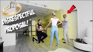 Disrespectful Proposal Prank On Girlfriend's Dad! *GONE WRONG*