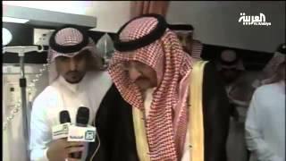 الأمير محمد بن نايف والأمير محمد بن سلمان يزوران مصابي #عاصفة_الحزم
