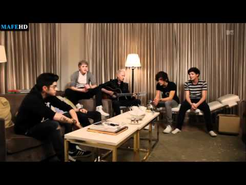 One Direction More Than This Live on MTV
