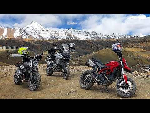 Superbikes In Himachal (DUCATI) | Kinnaur Travelogue Pt.3 | The Teen Trolls