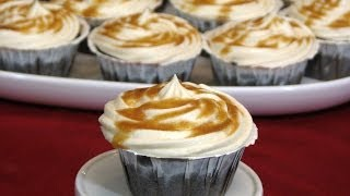 Chocolate Cupcakes With Salted Caramel Frosting -- Lynn's Recipes
