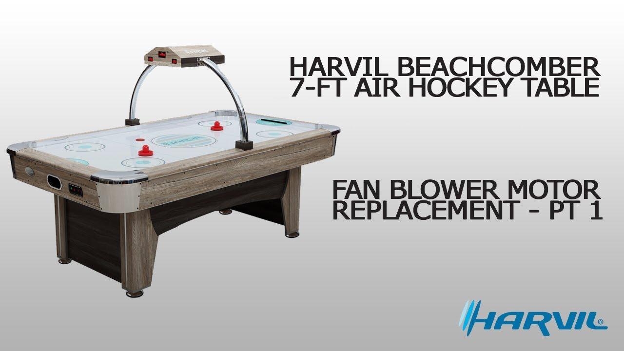 Fan Blower Motor Replacement - Part 1 | Harvil Beachcomber Air Hockey Table  | Dazadi com