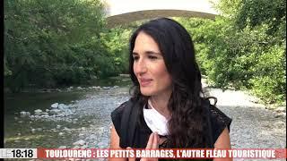 Toulourenc : les petits barrages, l'autre fléau touristique