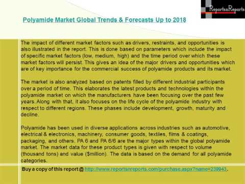 Polyamide Market Global Trends & Forecasts Up to 2018