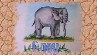 Как нарисовать СЛОНА поэтапно   Рисуем животных по шагам(Как нарисовать СЛОНА поэтапно Рисуем животных по шагам. Учимся рисовать животных просто , пошагово. Рисуем..., 2016-11-29T07:00:01.000Z)