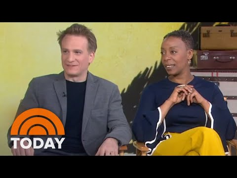 'Harry Potter And The Cursed Child' Broadway Stars On Playing Harry Potter, Ron, & Hermione  TODAY