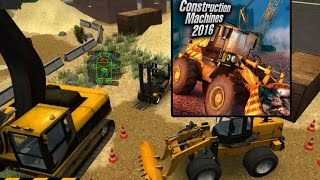 Construction Machines 2016 - HD Android Gameplay - Other games - Full HD Video (1080p)