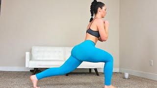 15 Minute Butt and Thigh Workout for a Bigger Butt - Exercises to Lift Your Booty