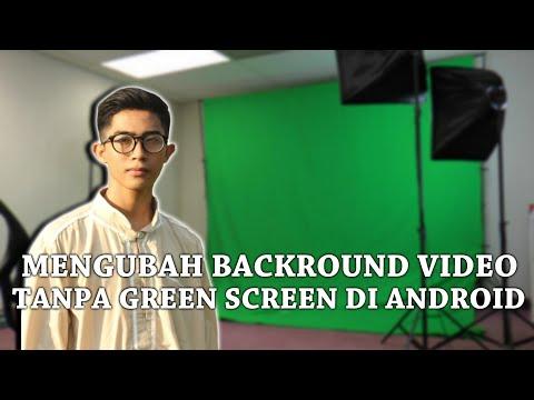 Cara Mengganti background video tanpa harus beli kain greenscreen.