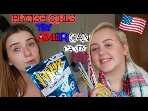 BRITISH GIRLS TRY AMERICAN CANDY  Emma Lillian Xo