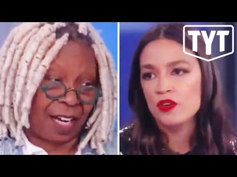 Whoopi Cries About AOC 'Offending' Her