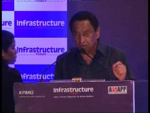 Kamal Nath, Minister of Urban Development, India at KPMG-Infra Today Awards 2013
