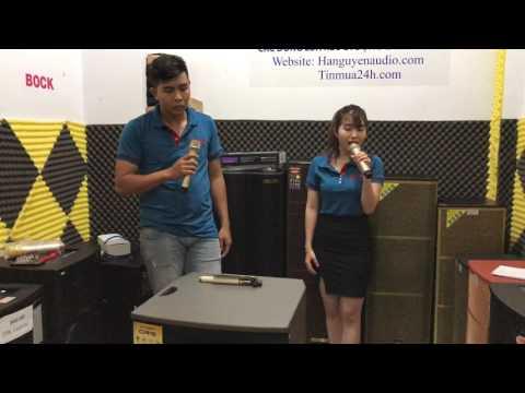Karaoke Nợ Duyên với loa kéo oris TO 718 cực hay