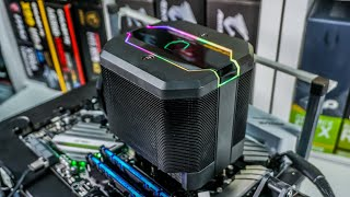 cooler Master's Best CPU Cooler Ever?! - MasterAir MA620M