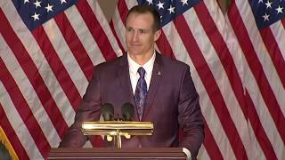Drew Brees fights back tears in talking about the day he found out Steve Gleason had ALS