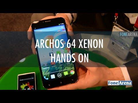 Archos 64 Xenon Hands On