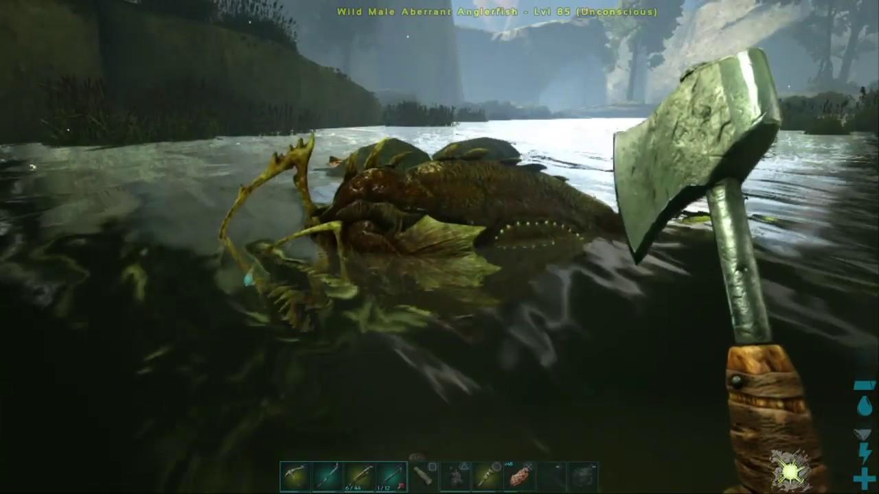 ARK: Survival Evolved Day 363 on Valguero Spino & Anglerfish taming. - YouTube