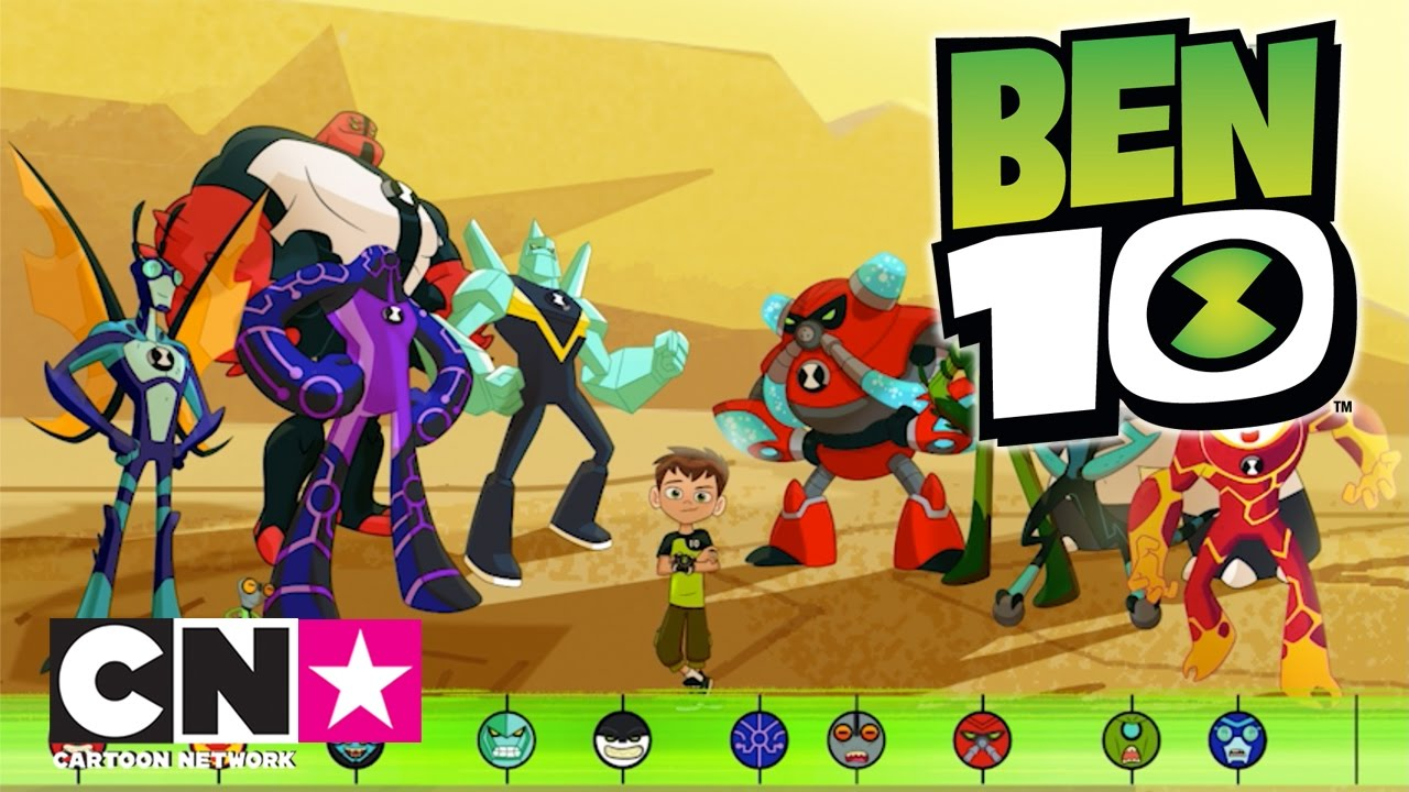 Ben 10 I Uzaylilarla Tanisma I Cartoon Network Turkiye Youtube