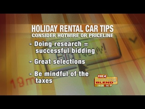 Rental Car Tips 11/15/16