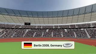 Shot Put Germany Berlin 2009