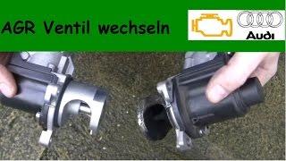 AGR EGR Ventil wechseln austauschen Abgasrückführungssystem Audi A6 2,7 4F5 Diesel