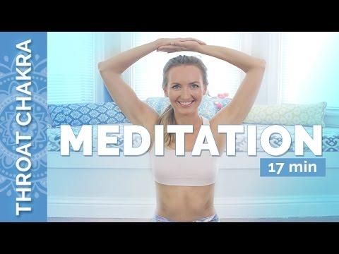 Throat Chakra Meditation: The Seven Chakra's Center Of Communication | Chakra Challenge