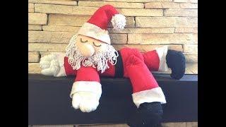Papai Noel de Feltro – Passo a Passo