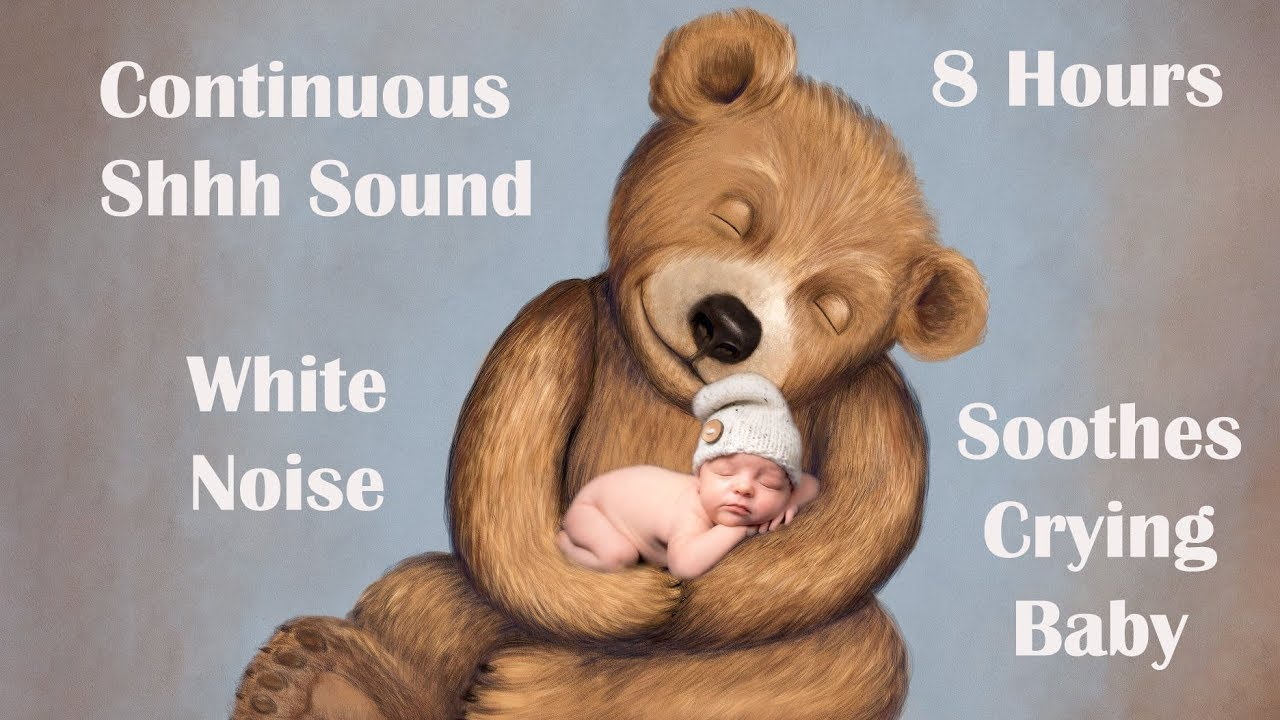 Colicky Baby Sleeps To This Shh Sound White Noise With ...