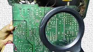 How To Repair Power Problem Of China Made Color Television (Part 15) - Very Useful