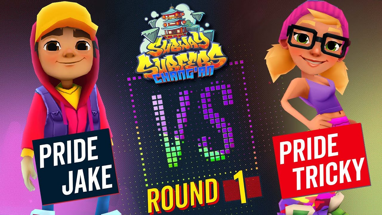 Subway Surfers Versus   Jake VS Tricky   Chang'an - Round 1   SYBO TV