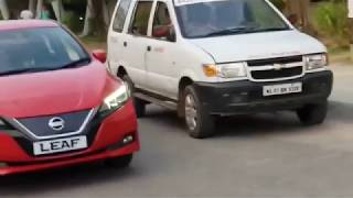 Nissan Leaf 2019 Electric car in Kerala, India