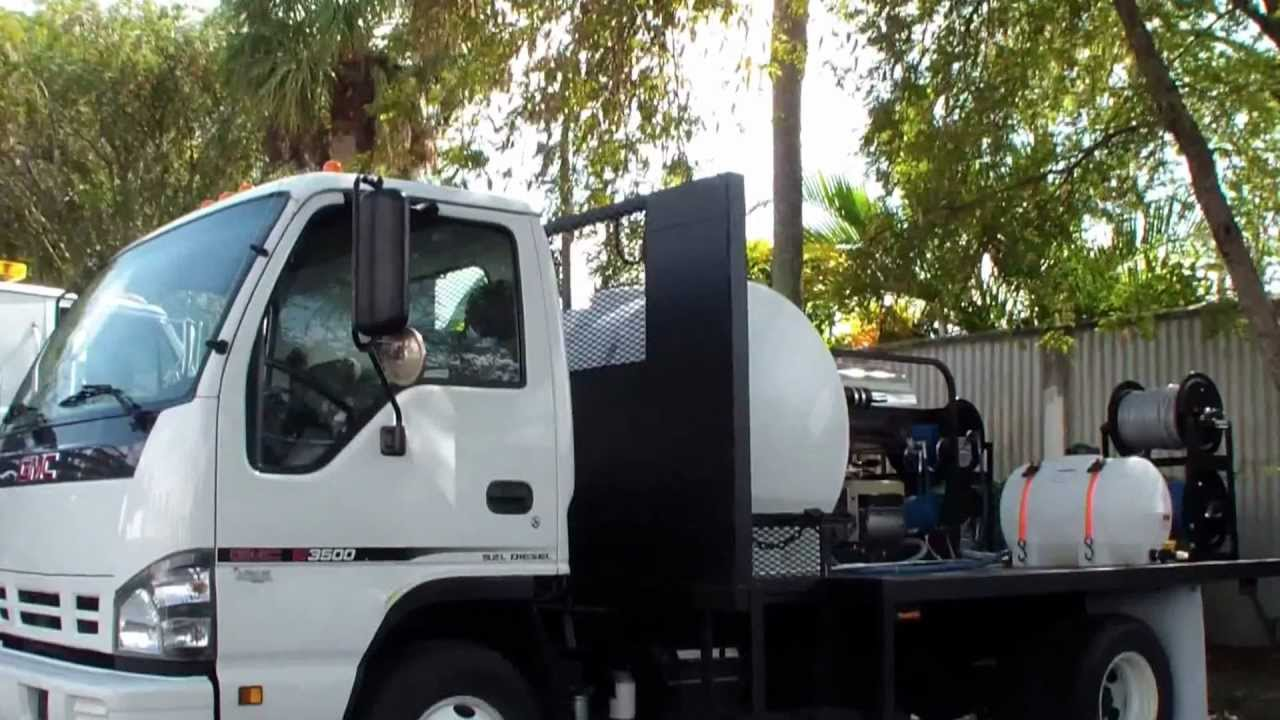 Used Diesel Trucks >> Truck Mounted Pressure Washers - Dade County - Panama ...